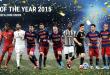 Η κορυφαία ενδεκάδα του 2015 από την UEFA