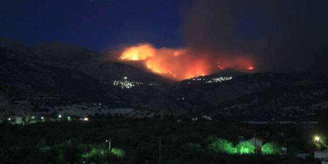 Συνεδρίαση στις Μάλες για την αποκατάσταση ζημιών από την πυρκαγιά